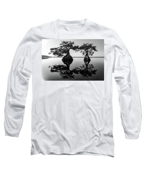 Lake Disston Old Couple Long Sleeve T-Shirt