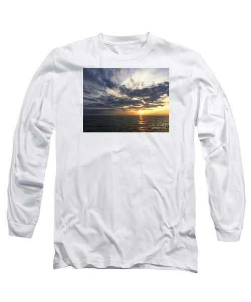 Lake Erie Sunset Long Sleeve T-Shirt