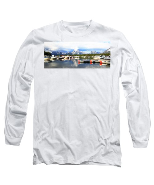 Lake Jackson Long Sleeve T-Shirt by Lam Tran