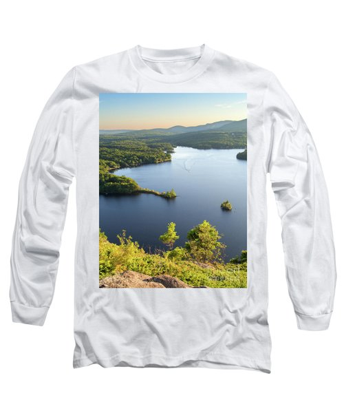 Lake Megunticook, Camden, Maine  -43960-43962 Long Sleeve T-Shirt