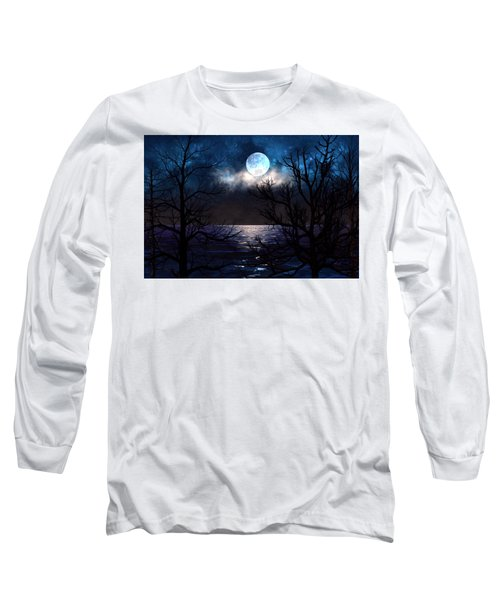 Lake Midnight Long Sleeve T-Shirt