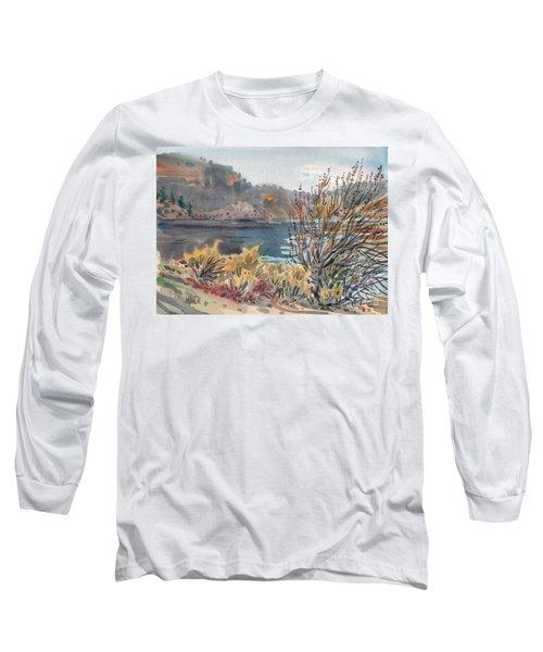 Lake Roosevelt Long Sleeve T-Shirt by Donald Maier