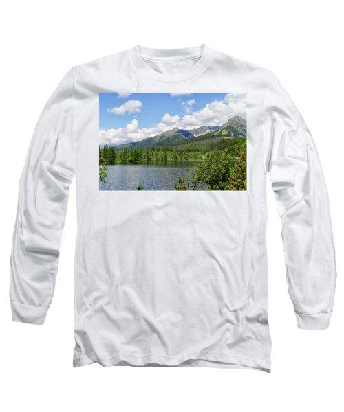 Lake Shtrbske  Long Sleeve T-Shirt