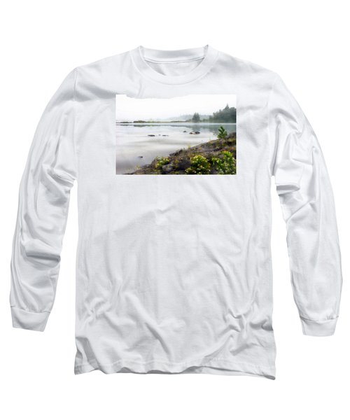 Lake Superior Long Sleeve T-Shirt by Ed Hall