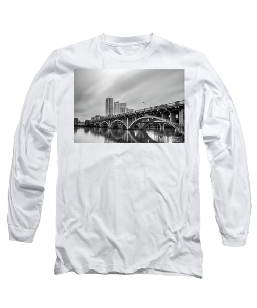 Lamar Bridge In Austin, Texas Long Sleeve T-Shirt