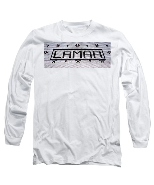 Long Sleeve T-Shirt featuring the photograph Lamar by Stephen Stookey