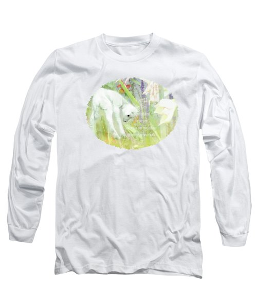 Lamb And Lilies - Verse Long Sleeve T-Shirt
