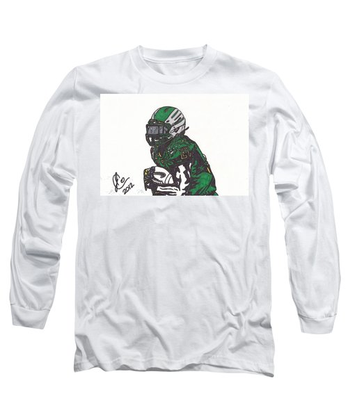 Lamicheal James 1 Long Sleeve T-Shirt by Jeremiah Colley