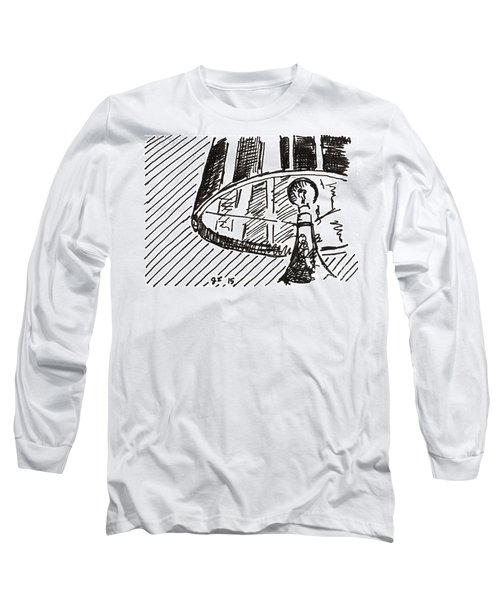 Lamp 1 2015 - Aceo Long Sleeve T-Shirt by Joseph A Langley