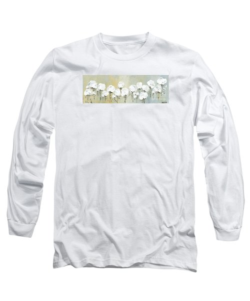 Land Of Cotton Long Sleeve T-Shirt by Kirsten Reed