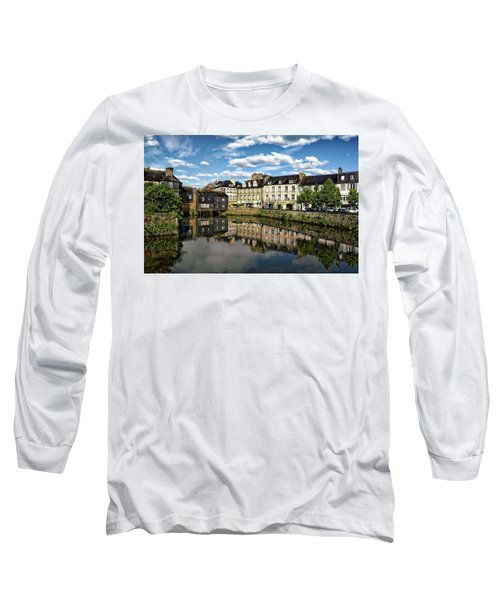 Landerneau Village View Long Sleeve T-Shirt