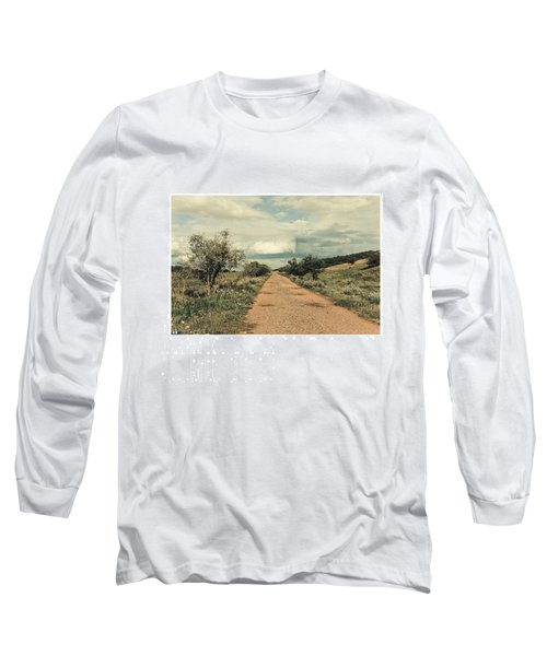 #landscape #stausee #path #road #tree Long Sleeve T-Shirt