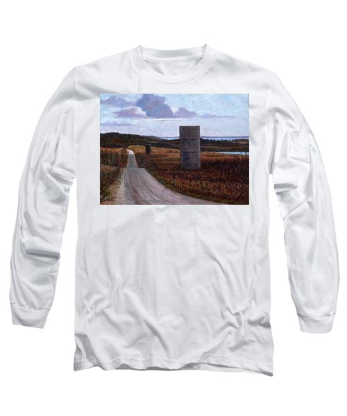 Landscape With Silos Long Sleeve T-Shirt