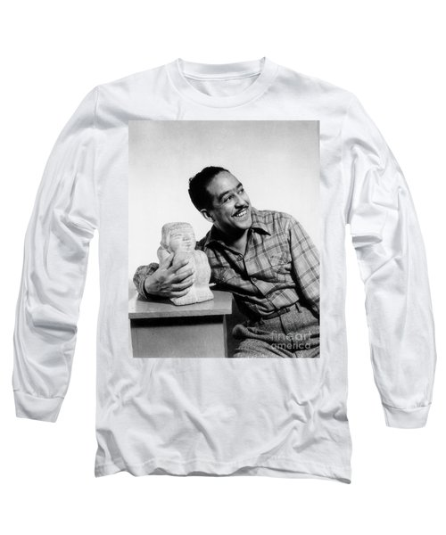 Langston Hughes (1902-1967) Long Sleeve T-Shirt
