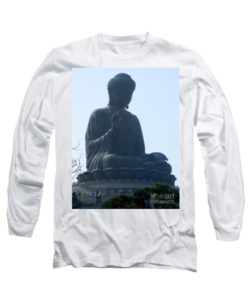 Long Sleeve T-Shirt featuring the photograph Lantau Island 49 by Randall Weidner