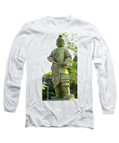 Long Sleeve T-Shirt featuring the photograph Lantau Island 52 by Randall Weidner