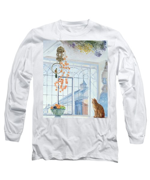 Lanterns Long Sleeve T-Shirt by Timothy Easton