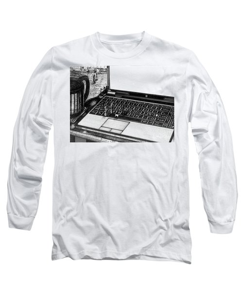 Laptop Long Sleeve T-Shirt