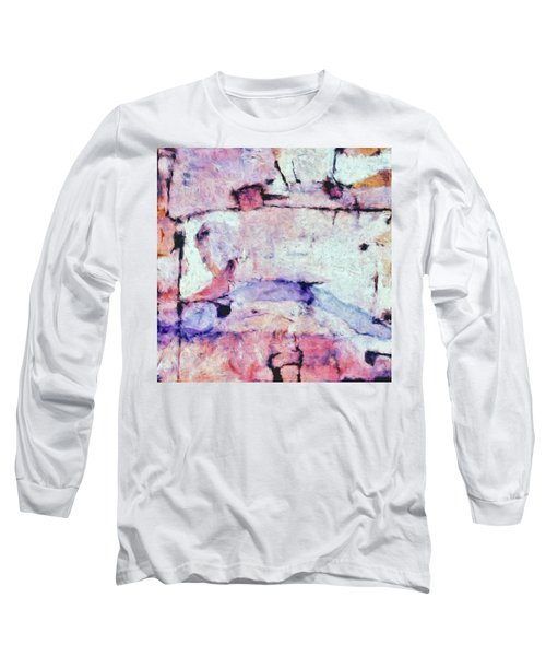 Long Sleeve T-Shirt featuring the painting Laredo by Dominic Piperata