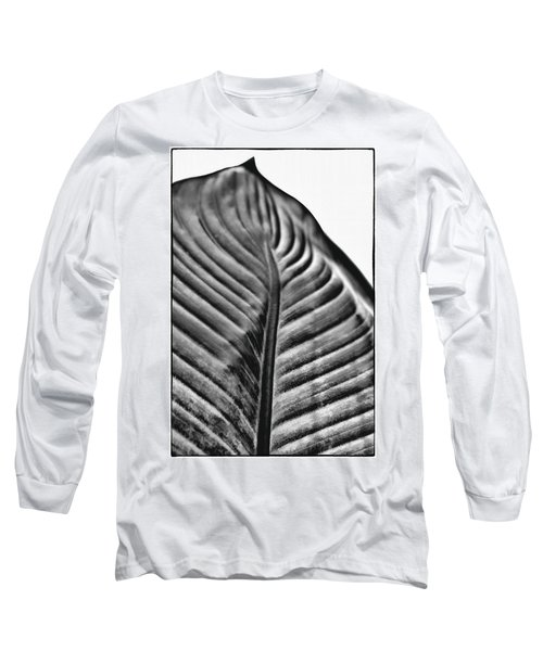 Large Leaf Long Sleeve T-Shirt