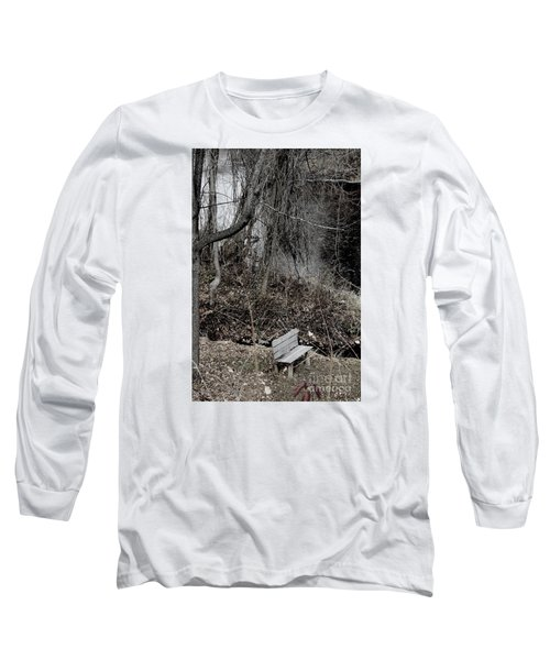 Last Available Seating Long Sleeve T-Shirt by Jesse Ciazza