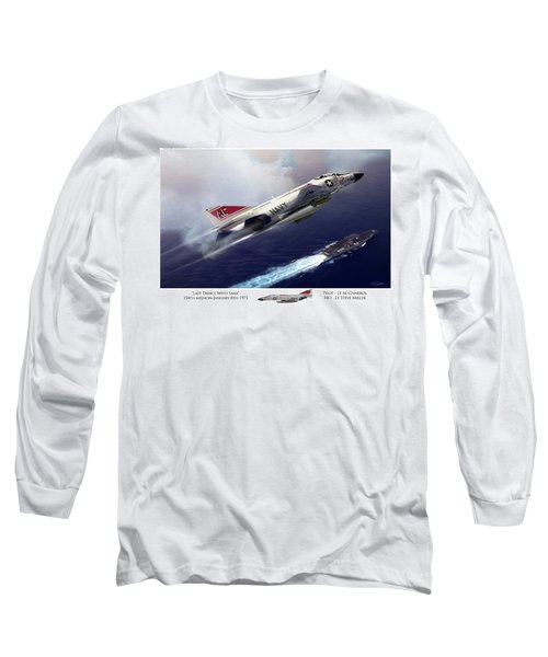Last Dance With Sara Long Sleeve T-Shirt by Peter Chilelli