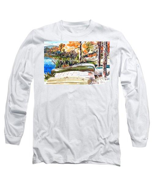 Last Summer In Brigadoon Long Sleeve T-Shirt by Kip DeVore