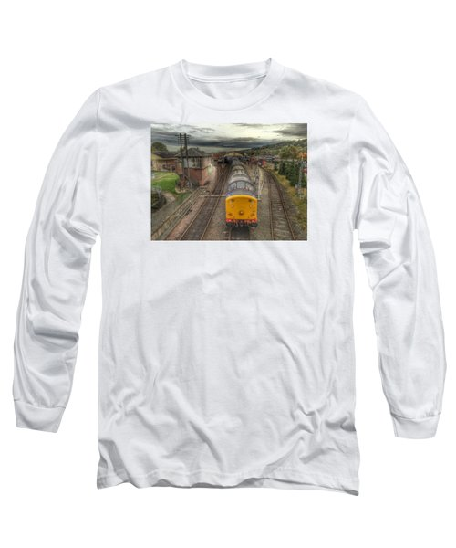 Last Train To Manuel Long Sleeve T-Shirt by RKAB Works