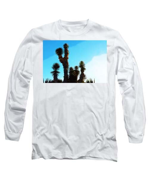 Late Afternoon Cactus Long Sleeve T-Shirt