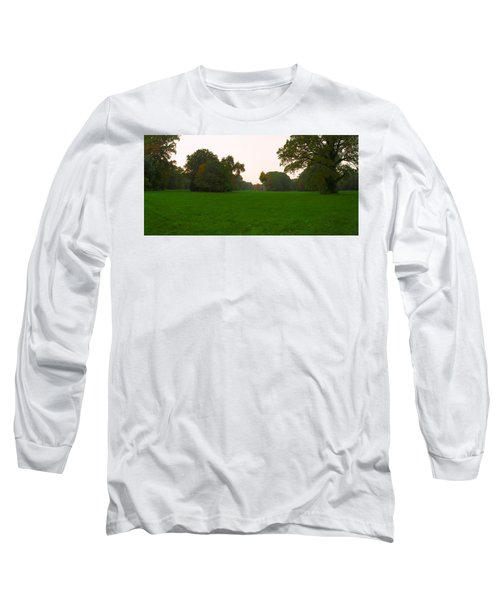 Late Afternoon In The Park Long Sleeve T-Shirt