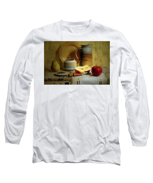 Long Sleeve T-Shirt featuring the photograph Late Day Break by Diana Angstadt