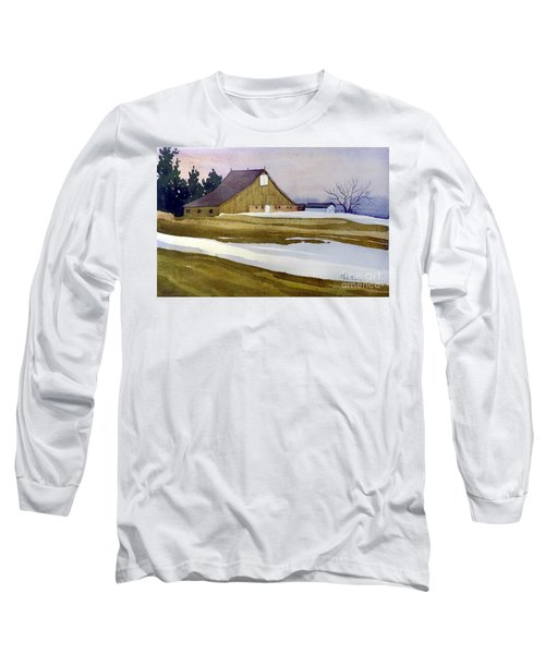 Late Winter Melt Long Sleeve T-Shirt