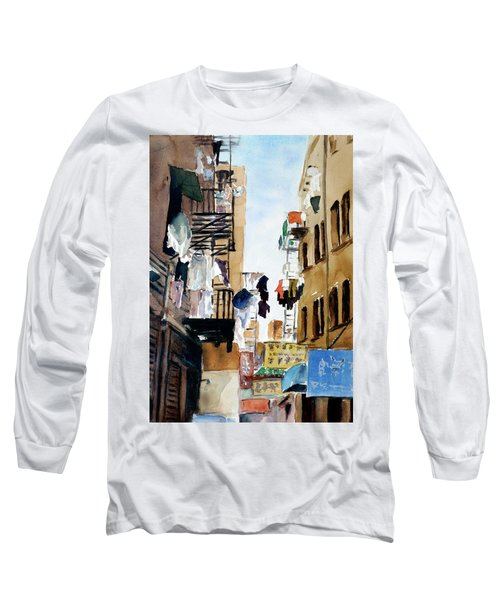 Laundry Day Long Sleeve T-Shirt by Tom Simmons
