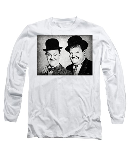 Laurel And Hardy My Pal Long Sleeve T-Shirt