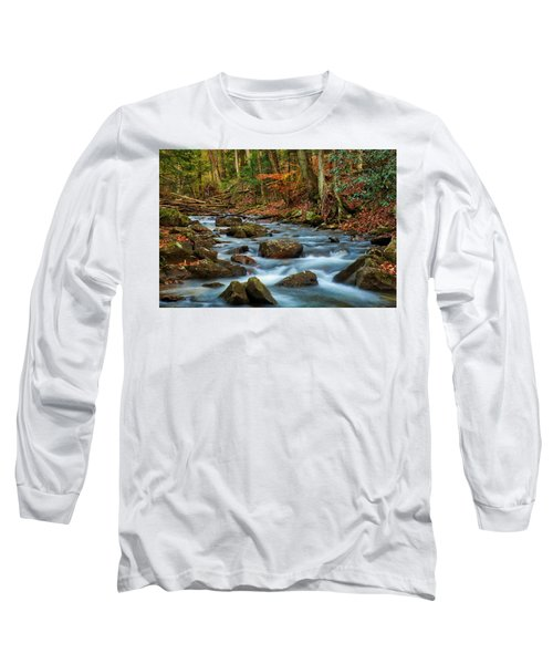 Laurel Fork In The Fall Long Sleeve T-Shirt