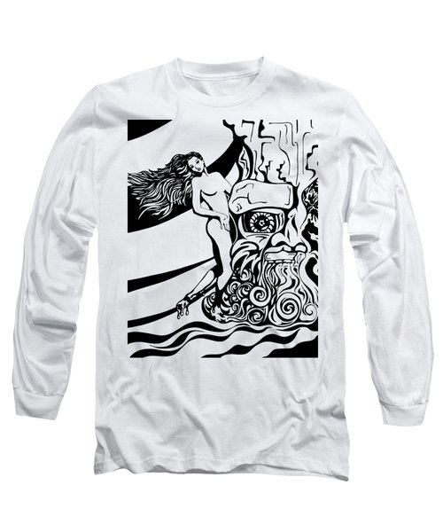 Lava Flow Long Sleeve T-Shirt