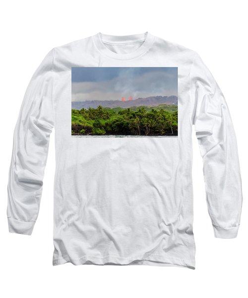 Lava Fountain Long Sleeve T-Shirt
