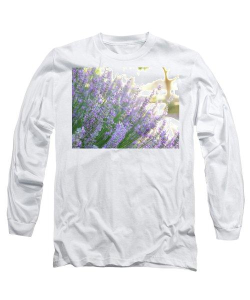 Lavender At Dawn Long Sleeve T-Shirt