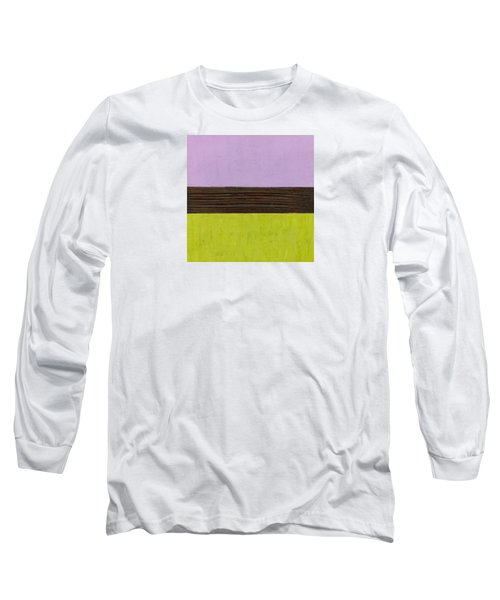 Lavender Brown Olive Long Sleeve T-Shirt