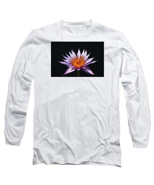 Lavender Fire 1 Long Sleeve T-Shirt