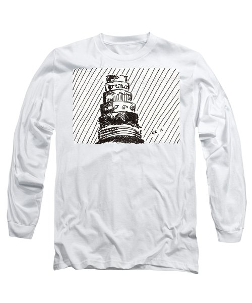 Layer Cake 1 2015 - Aceo Long Sleeve T-Shirt by Joseph A Langley