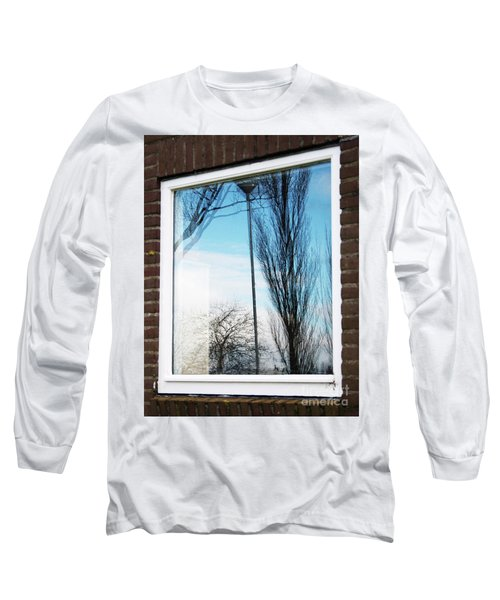 Layers Of Reality Long Sleeve T-Shirt by Ana Mireles
