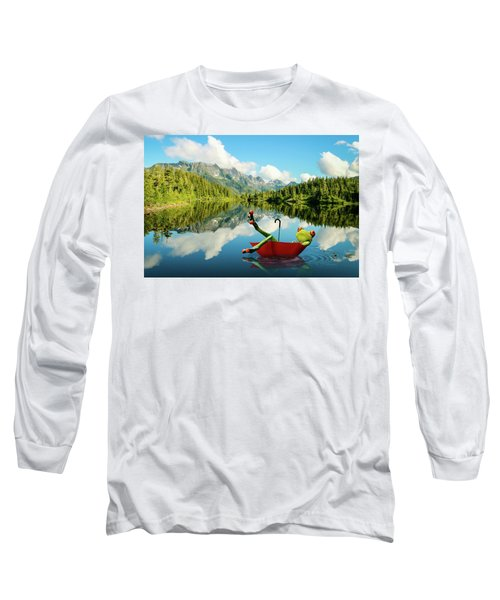 Lazy Days Long Sleeve T-Shirt by Nathan Wright