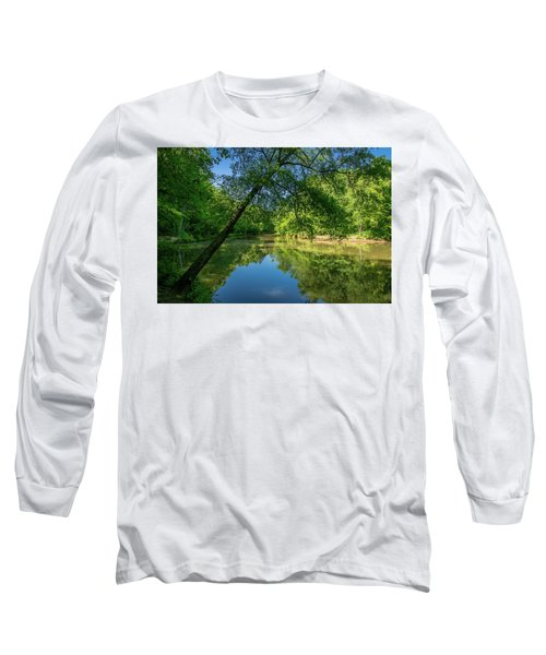 Lazy Summer Day On The River Long Sleeve T-Shirt