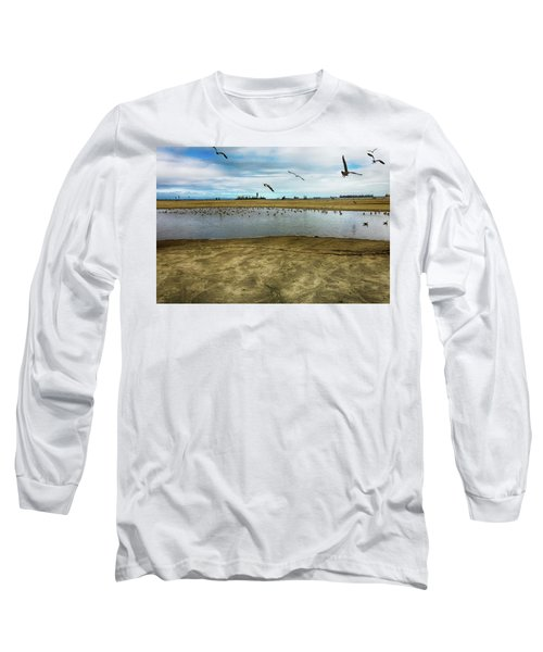 Lb Seagull Pond Long Sleeve T-Shirt