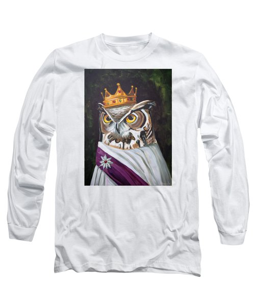Le Royal Owl Long Sleeve T-Shirt by Nathan Rhoads