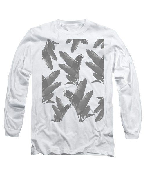 Leaf Pattern Long Sleeve T-Shirt