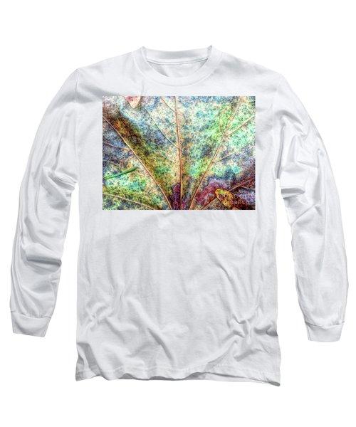 Leaf Terrain Long Sleeve T-Shirt by Todd Breitling