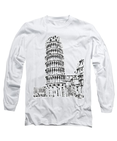 Leaning Tower Of Pisa Long Sleeve T-Shirt