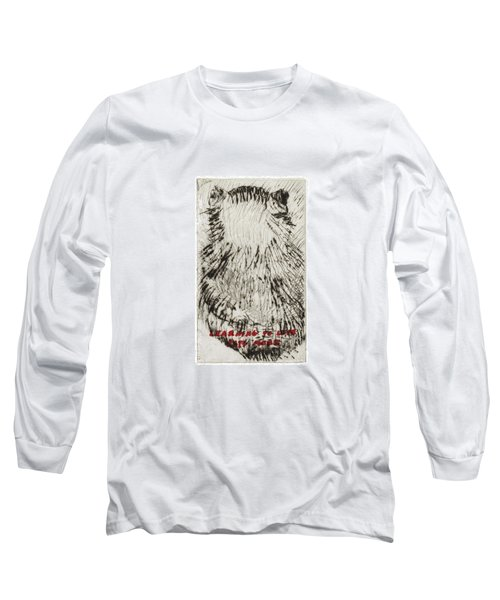 Learning To Love Rats More #3 Long Sleeve T-Shirt